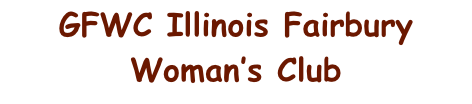 GFWC Illinois Fairbury Woman's Club